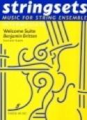 Welcome Suite -Strings ensemble Benjamin Britten laflutedepan.com