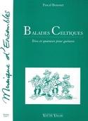 Balades celtiques Pascal Bournet Partition Guitare - laflutedepan.com