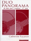 Duo Panorama Catherine Fayance Partition Guitare - laflutedepan.com