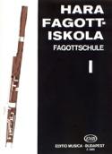 Fagottschule Volume 1 Laszlo Hara Partition Basson - laflutedepan.com