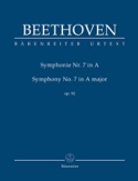 Symphonie N° 7 - Conducteur BEETHOVEN Partition laflutedepan.com