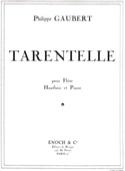 Tarentelle - Philippe Gaubert - Partition - Trios - laflutedepan.com