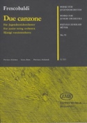 2 Canzone - Junior String Orch. Girolamo Frescobaldi laflutedepan.com