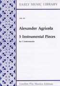 5 Instrumental pieces -3 instruments laflutedepan.com