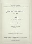 Trio en Do majeur - Stimmen Joseph Triebensee laflutedepan.com