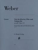 Trio en sol mineur op. 63 pour piano, flûte et violoncelle laflutedepan.com