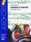 Cantabile et Giocoso Pascal Proust Partition laflutedepan.com
