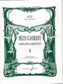 Pièces Classiques Volume 2 – Alto - Frédéric Lainé - laflutedepan.com