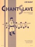 Chant slave - Joseph-Edouard BARAT - Partition - laflutedepan.com