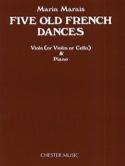 Five Old French Dances – Viola Marin Marais Partition laflutedepan.com