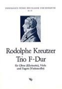 Trio F-Dur -Oboe Viola Fagott Rodolphe Kreutzer laflutedepan.com