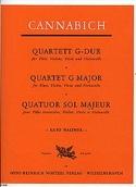 Quartett G-Dur -Flöte Violin Viola Violoncello laflutedepan.com