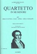Quartetto in mi minore - Flauto violino viola violoncello laflutedepan.com