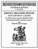 4 Concertini A Quatro - Flûte-Violon-Cello-B. C. laflutedepan.com