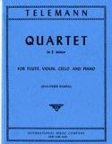 Quartet in E minor -Flute violin cello piano laflutedepan.com