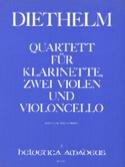 Quartett op. 167 - Klarinette 2 Violen Violoncello - Partitur + Stimmen laflutedepan.com