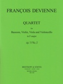 Quartet in F major op. 73 n° 2 - Bassoon strings laflutedepan.com