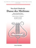 Danse des Mirlitons - 3 Flûtes-Piano TCHAIKOVSKY laflutedepan.com