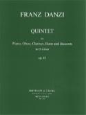 Quintet d minor op. 41 –Piano oboe clarinet cor et basson laflutedepan.com