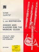 Adagio and Allegro for The Musical Clock - Wind quintet laflutedepan.com