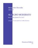 Allegro Moderato -Wind quintet - Parts laflutedepan.com