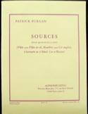 Sources -Parties + conducteur Patrick Burgan laflutedepan.com