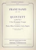 Quintett F-Dur op. 68 Nr. 2 -Stimmen Franz Danzi laflutedepan.com