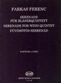 Serenade -Bläserquintett - Partitur + Stimmen laflutedepan.com