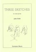 3 Sketches -Wood quintet - Score + parts John Frith laflutedepan.com