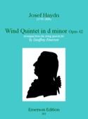 Wind quinet in d minor op. 42 -Stimmen HAYDN laflutedepan.com