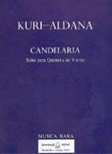 Candelaria -Partitur + Stimmen Mario Kuri-Aldana laflutedepan.com