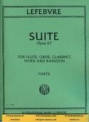 Suite op. 57 -Parts Charles Edouard Lefebvre laflutedepan.com
