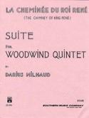 La cheminée du Roi René -Woodquintet - Score + parts laflutedepan.com