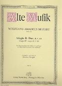 Adagio B-Dur KV 411 -Bläserquintett - Stimmen MOZART laflutedepan.com