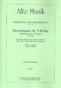 Divertimento Nr. 9 B-Dur KV 240 -Bläserquintett - Stimmen laflutedepan.com