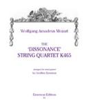 Wind Quintet The Dissonance String quartet KV 465 - Parts laflutedepan.com