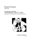 Novelette in C major -Wind quintet - Parts laflutedepan.com