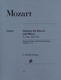 Quintette en Mi bémol majeur K. 452 pour piano, hautbois, clarinette, cor et bas laflutedepan.com