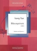 Bläserquintett Isang Yun Partition Quintettes - laflutedepan.com