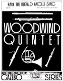 Hark The Herald Angels Sing - Woodwind quintet laflutedepan.com
