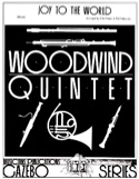 Joy to the World - Woodwind quintet Partition laflutedepan.com