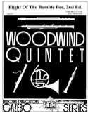 The flight of the bumble bee - Woodwind quintet laflutedepan.com
