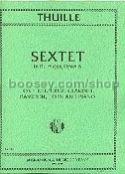 Sextet in Bb major op. 6 - Flute oboe clar. bassoon horn piano laflutedepan.com