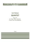 Quintette opus 43 - Parties Carl Nielsen Partition laflutedepan.com