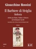 Il Barbiere Di Siviglia - Sinfonia Gioacchino Rossini laflutedepan.com