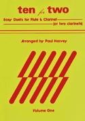 Ten for Two - Volume 1 Paul Harvey Partition Duos - laflutedepan.com