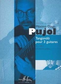 Tangondo pour 3 guitares Maximo Diego Pujol Partition laflutedepan.com