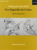 5 Bagatelles for Guitar William Walton Partition laflutedepan.com