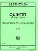 Quintet in C major op. 29 -Parts BEETHOVEN laflutedepan.com