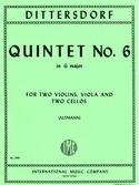 Quintet n° 6 in G major -Score + Parts laflutedepan.com